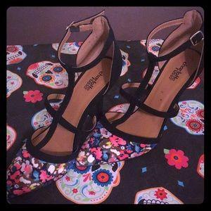 Charlotte Russe heels very slight wear